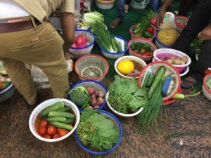 インドの野菜屋さん