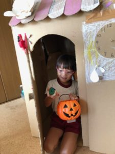 Trick or Treatの練習中