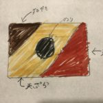 新作・日本の国旗