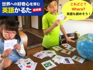 すみちゃん先生 カルタ〜国旗編〜